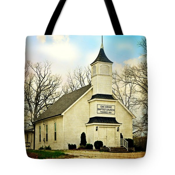 Tote Bag featuring the photograph Church 12 by Marty Koch