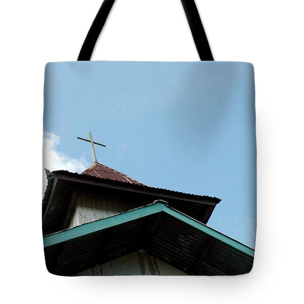 Church Tote Bag by Antoni Halim