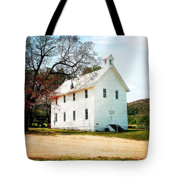 Tote Bag featuring the photograph Church At Boxley by Marty Koch
