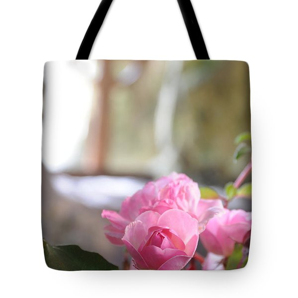 Church Flowers Tote Bag