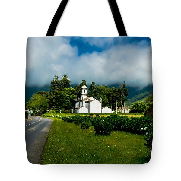 Church In Seven Cities Tote Bag