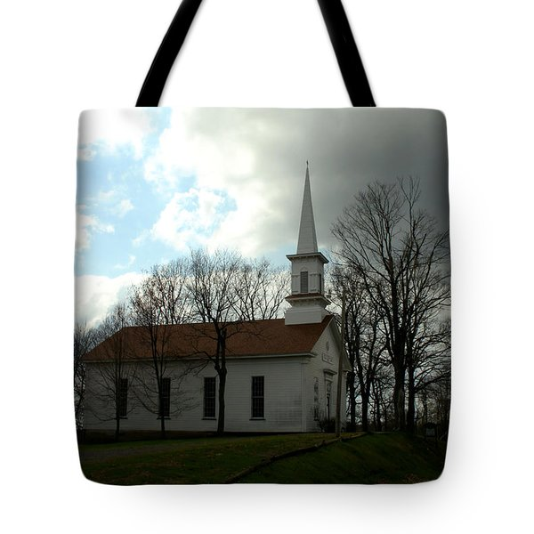 Church In The Country Tote Bag