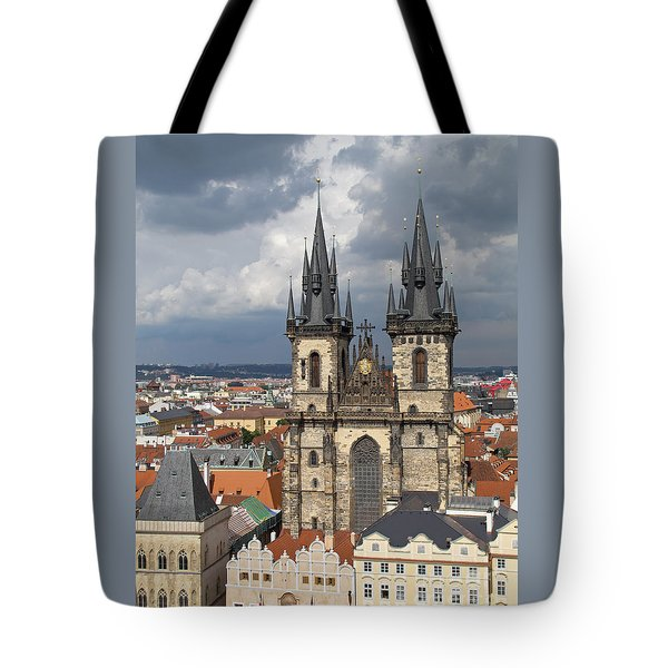 Church Of Our Lady Before Tyn - Prague Tote Bag