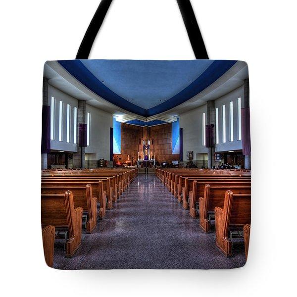 Church Of Saint Columba Tote Bag by Amanda Stadther
