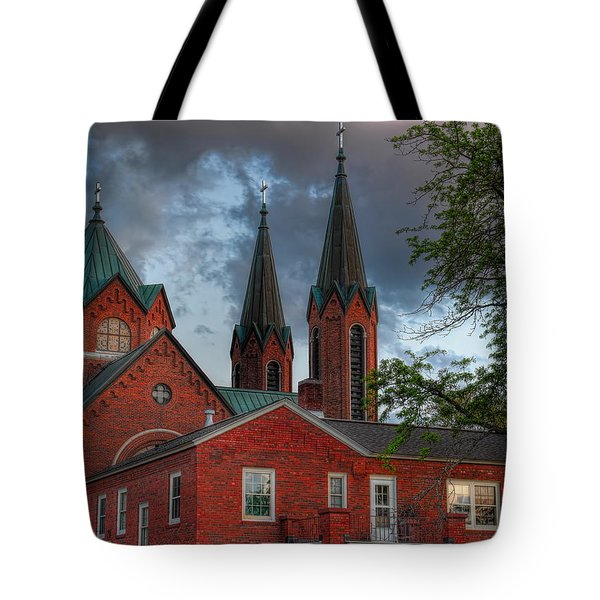 Church Of The Resurrection Tote Bag