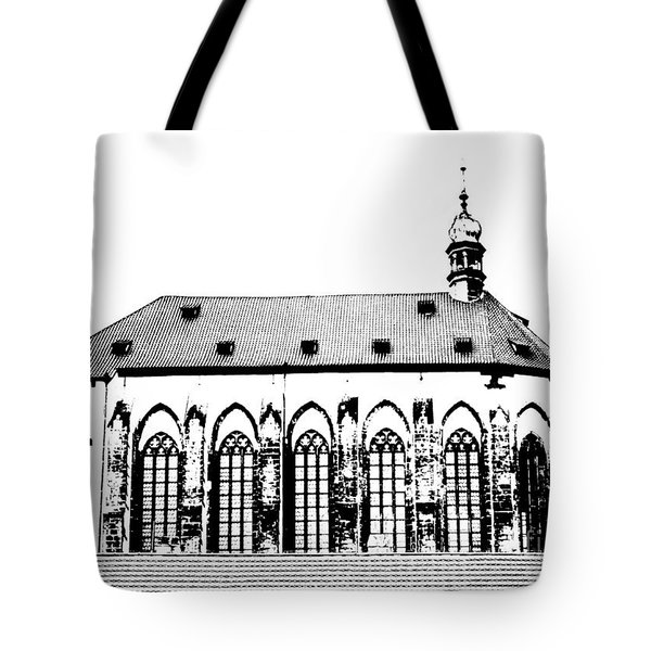 Church Of The Virgin Mary Of Snow Tote Bag by Michal Boubin