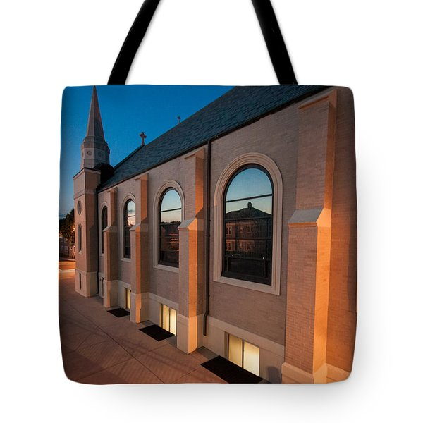Church Reflections Tote Bag by Brian MacLean