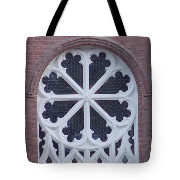 Church Rose  Tote Bag