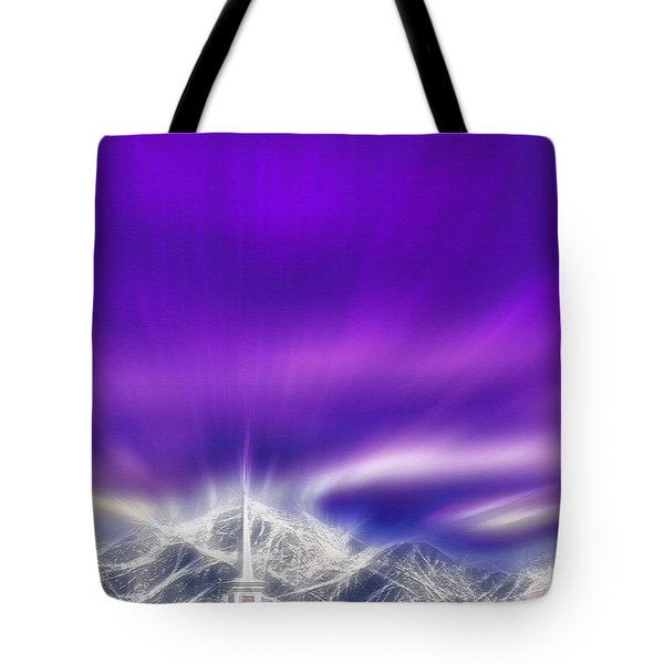 Church Steeple - Religious Freedom Tote Bag by Steve Ohlsen