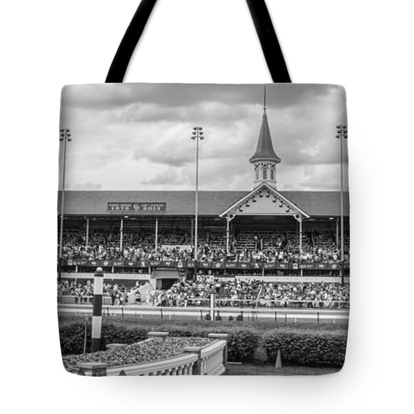 Churchill Downs And Twin Spires  Tote Bag