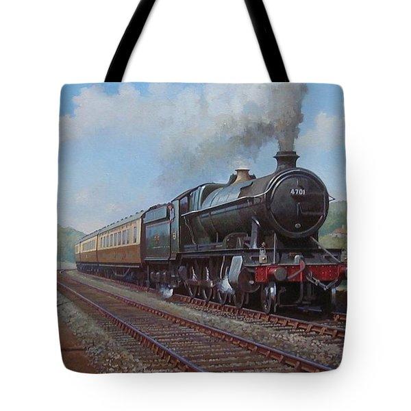 Churchward 2.8.0  Tote Bag by Mike  Jeffries