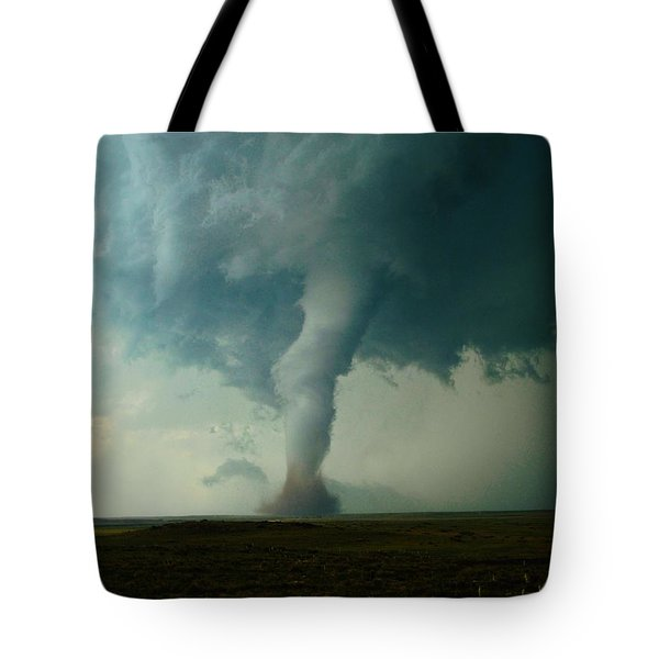 Churning Twister Tote Bag by Ed Sweeney