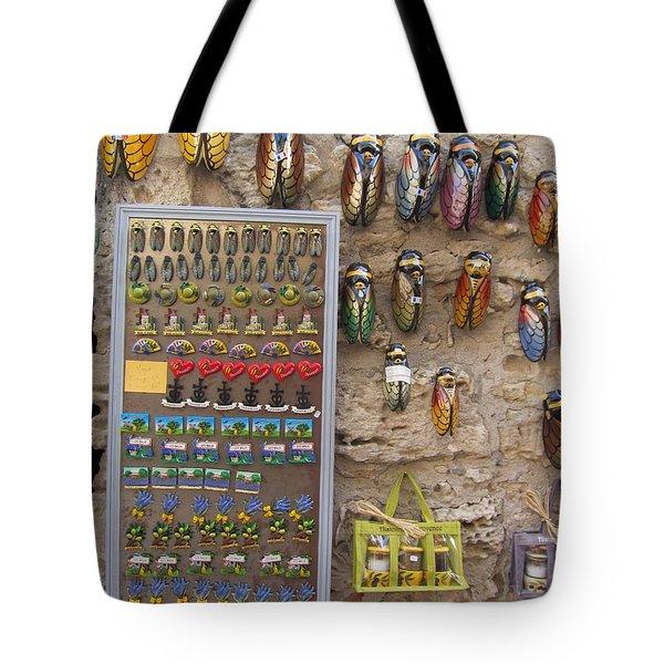 Cicada Souvenirs Tote Bag by Pema Hou