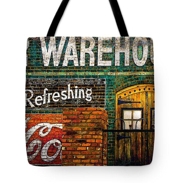 Cigar Warehouse Tote Bag