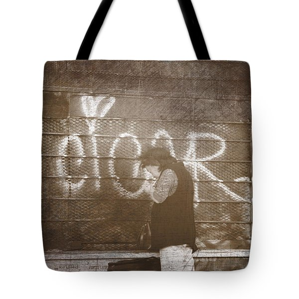 Cigars Only Tote Bag