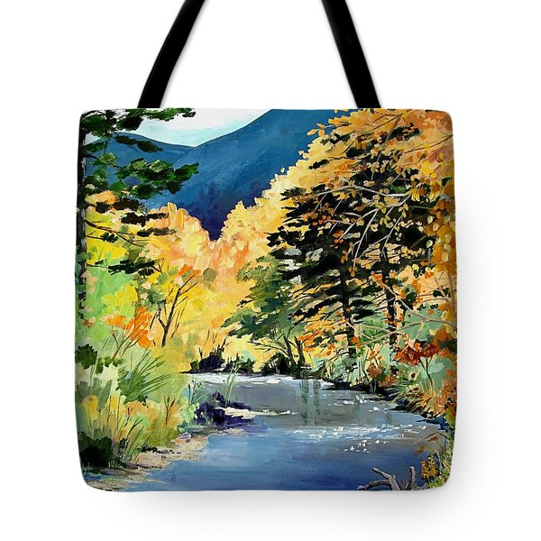 Cimarron Canyon Tote Bag