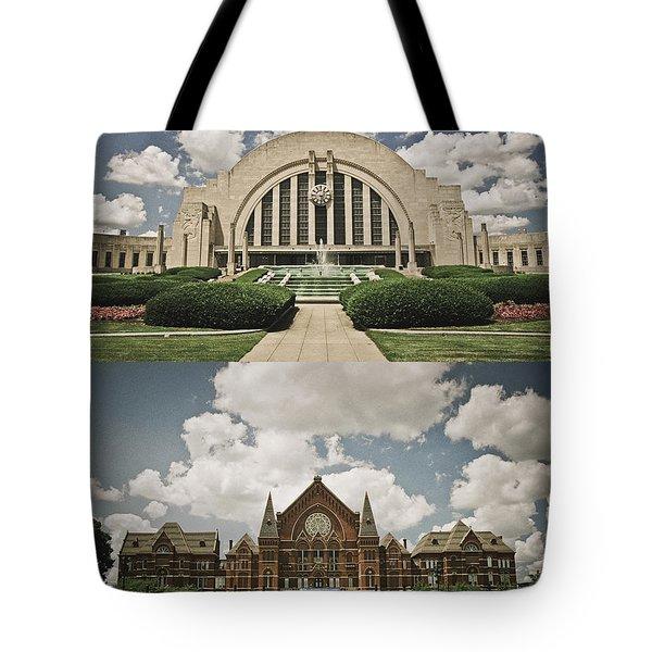 Cincinnati Icons Tote Bag