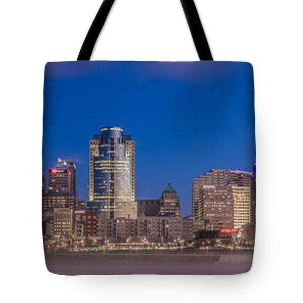 Cincinnati Morning Twilight Tote Bag