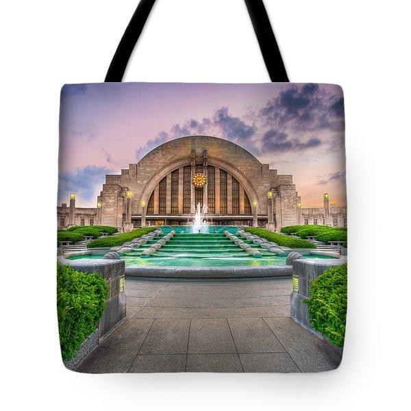 Cincinnati Museum Center Tote Bag