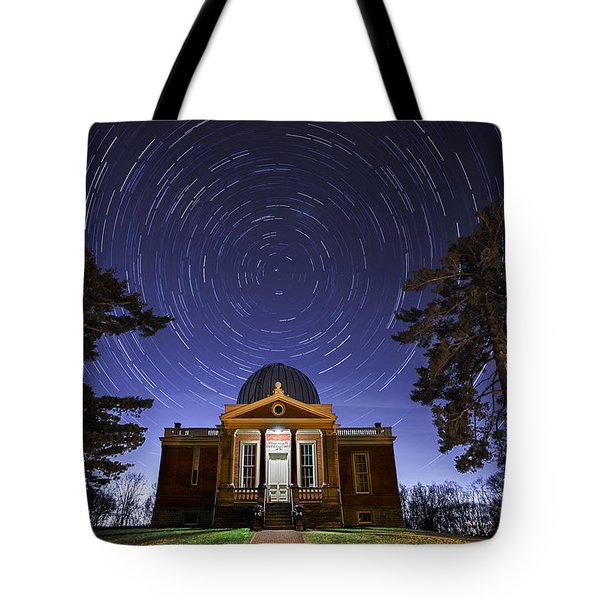 Cincinnati Observatory Tote Bag by Keith Allen