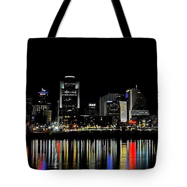 Cincinnati Skyline Dreams 3 Tote Bag