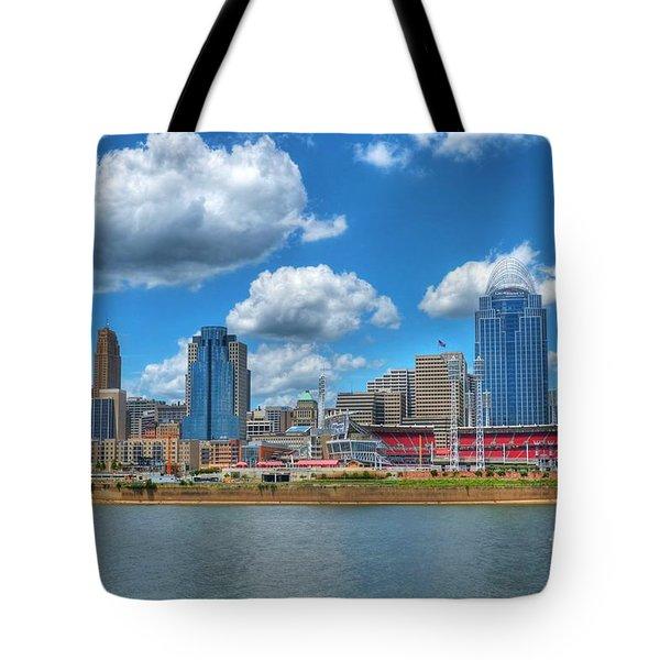 Cincinnati Skyline Tote Bag