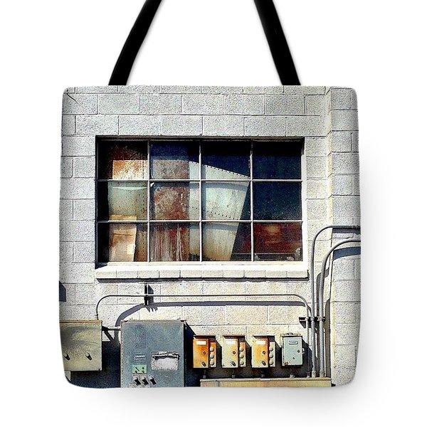 Cinderblock Tote Bag