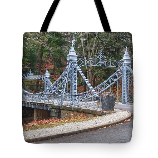 Cinderella Bridge Tote Bag by Guy Whiteley