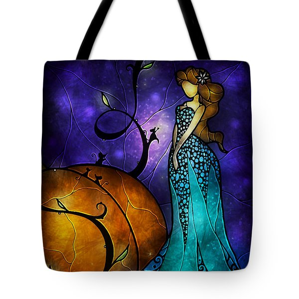 Cinderella Tote Bag by Mandie Manzano