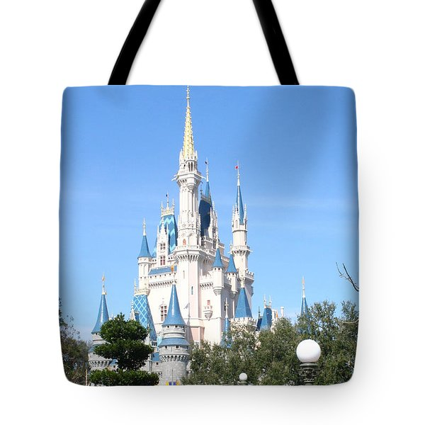 Cinderella's Castle - Disney World Orlando Tote Bag
