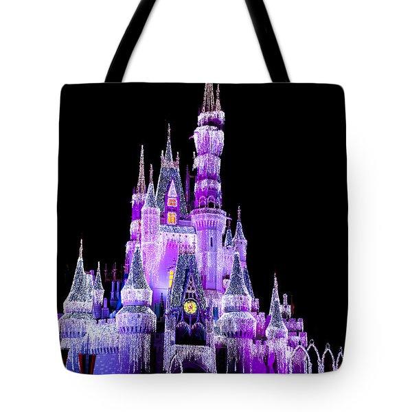 Cinderella's Castle Tote Bag by Lisa L Silva