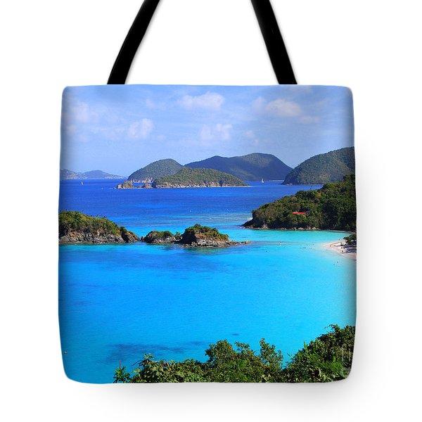 Cinnamon Bay St. John Virgin Islands Tote Bag