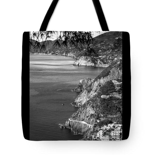 Cinque Terre Coastline Tote Bag