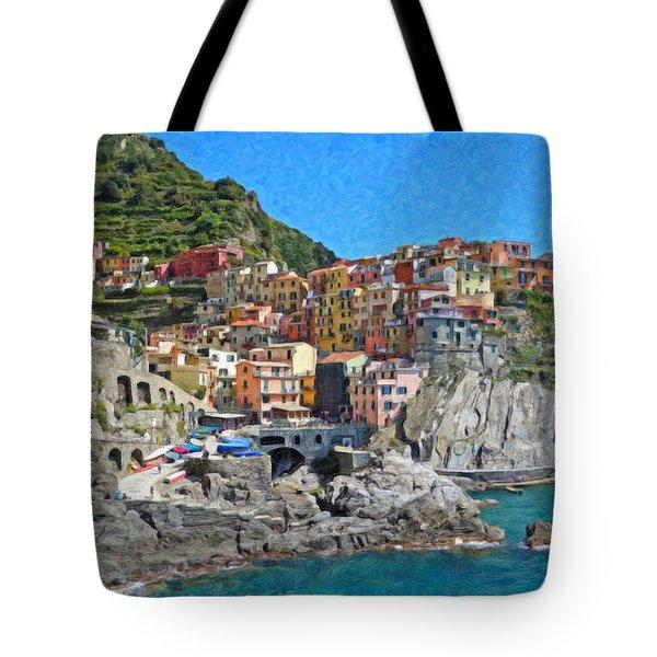 Cinque Terre Itl3403 Tote Bag