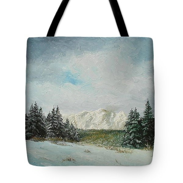 Tote Bag featuring the painting Cioplea by Sorin Apostolescu