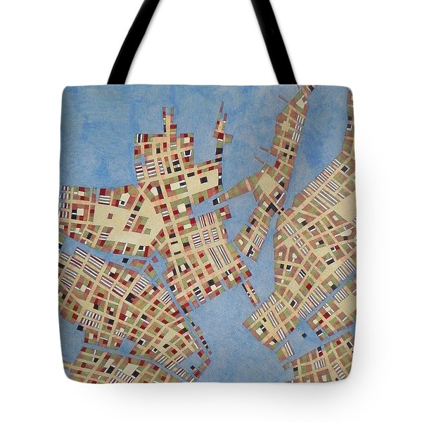 Cipher N. 13 Tote Bag by Federico Cortese