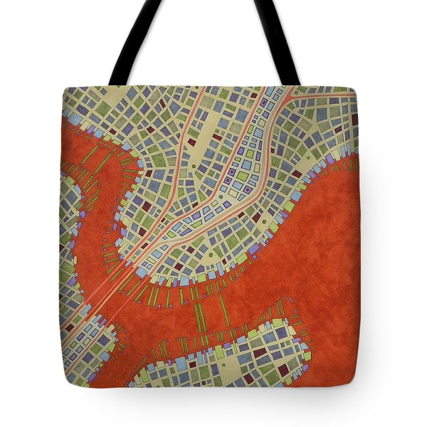 Cipher N. 14 Tote Bag by Federico Cortese