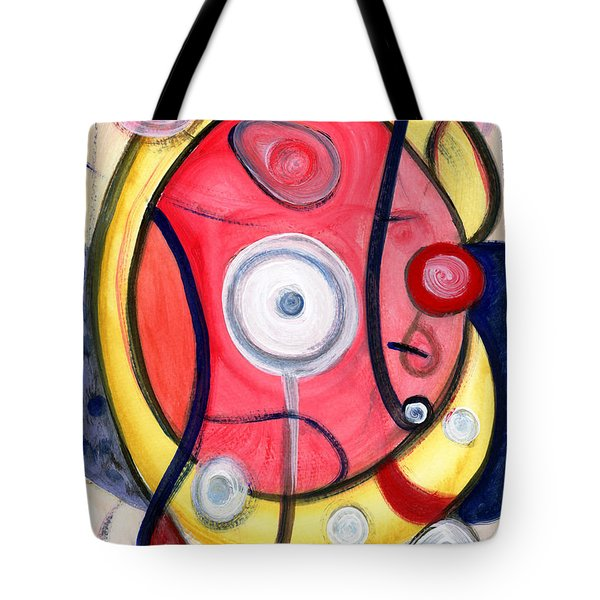 Circle For Lovers Tote Bag by Stephen Lucas