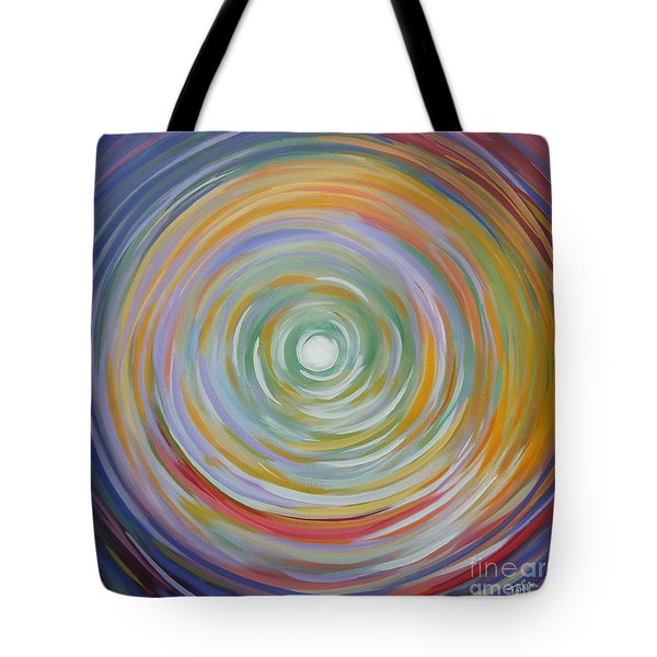 Circle In A Square Tote Bag