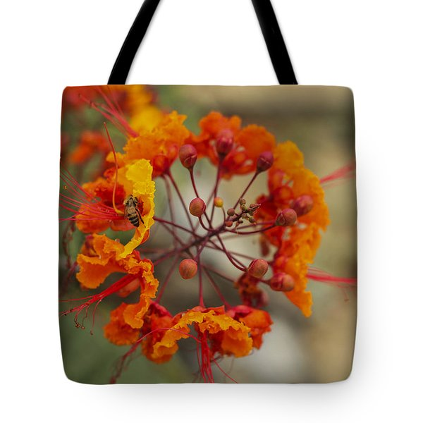 Tote Bag featuring the photograph Circle Of Flowers by Amber Kresge