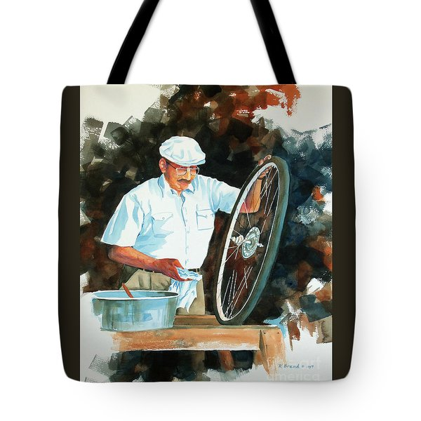Circle Of Life 2 Tote Bag by Kathy Braud