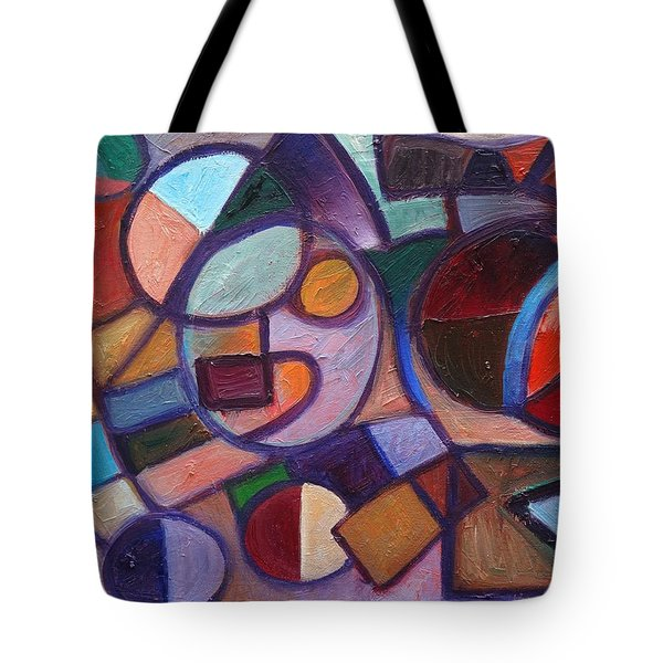 Circle Speaker Tote Bag