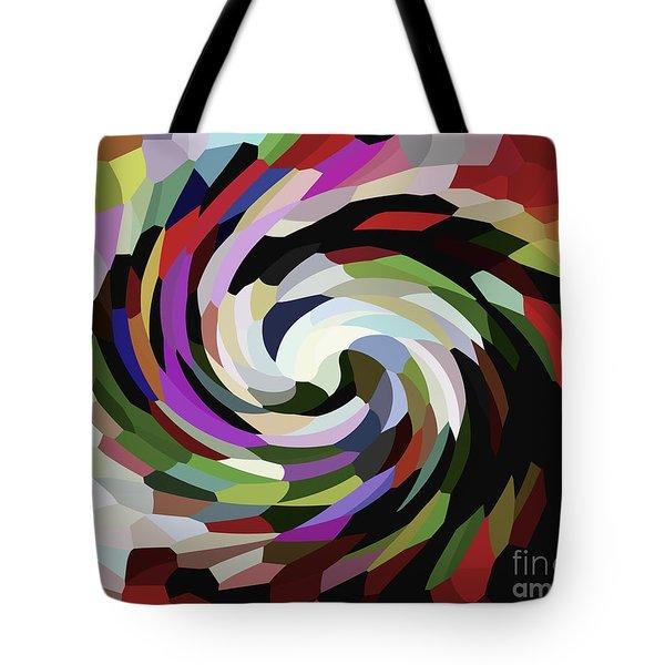 Circled Car Tote Bag