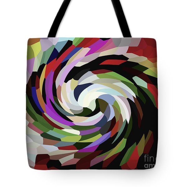 Circled Car Tote Bag