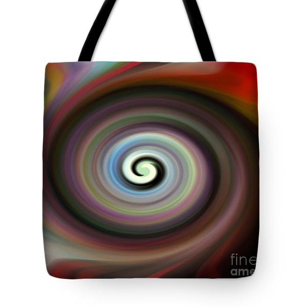 Circled Carma Tote Bag
