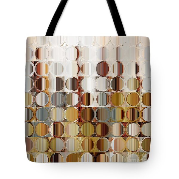 Circles And Squares 36. Modern Abstract Fine Art Tote Bag