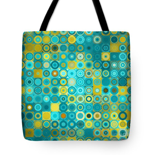 Circles And Squares 6. Modern Home Decor Art Tote Bag