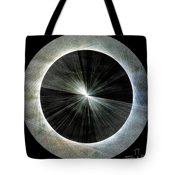 Circles Do Not Exist 720 The Shape Of Pi Tote Bag by Jason Padgett