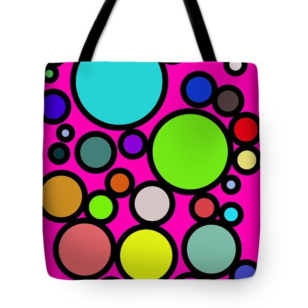 Circles Galore Tote Bag
