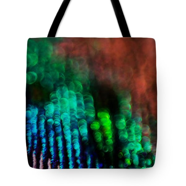 Circles Of Confusion Tote Bag by Lisa Knechtel